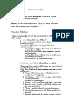 Walker Criminal Law Outline