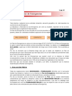 Bases Para Un Plan de Emergencias en La Empresa