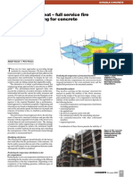 Turning Up the Heat – Full Service Fire Safety Engineering for Concrete Structures