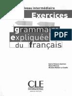 Exercicess Grammaire Explique Du Francais