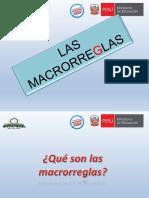 Las Macrorreglas (1)