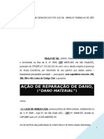 acao_indenizacao_reparacao_dano_material_honorarios_advocaticios_extrajudiciais_contratuais_advogado_particular_modelo_347_BC324.doc