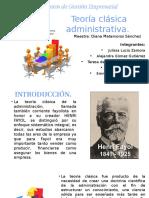 Expo Teoría Clásica Administrativa