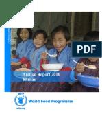 Annual Report - WFP Bhutan 2010_1