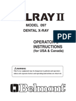 Belmont Belray 097Operation Manual 1A0499B0 Rev