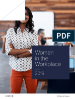 Women in the Workplace 2016 Report