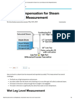 Density Compensation for Steam Drum Level Measurement _ Integrated Systems