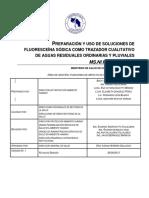 UDO Preparacion Uso Soluciones Fluoresceina Sodica