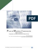 Plan de Mejora e Innovacion Ayuntamiento Alzira