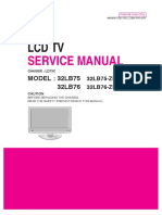 LG32LB75 Chassis LD73C