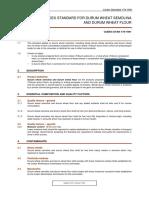 Codex Standard for Durum Wheat Semolina and Durum Wheat Flour