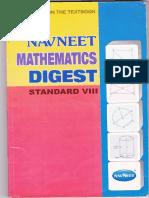 74757332 Navneet Maths Digest Std 8th