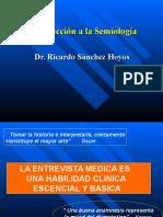 Ectoscopia, Anamnesis