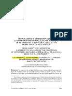 Modularidad e Hipertextualidad Analisis Descriptivo de Algunas Portadas de El Diario El Austral de La Araucania Desde 1916 a La Actualidad