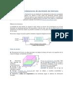 Cálculo de Instalaciones de Alumbrado de Interiores