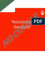 Copia de Semana 4 Sesion 2 Casuistica - Reestructuracion y Diversificación