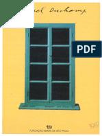 Catálogo Da Exposição Marcel Duchamp, Parte Da 19ª Bienal de São Paulo - Utopia Versus Realidade (1987)