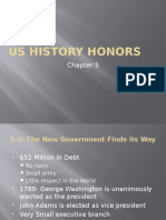 US History- Chapter 5