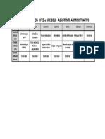 Plano de Estudos - UFC IFCE