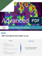 RSNA 2013 Presentation 'Advanced MR'
