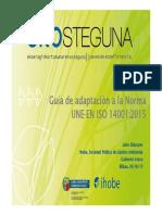 Guía ISO 14001 2015 Ihobe