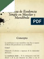 12.- Exodoncia Simple 1
