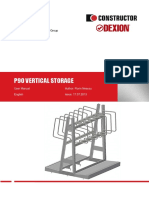 (en) P90 Vertical Storage - User Manual - Issue 17.07.2013