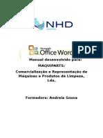 Manual Do Formando Word