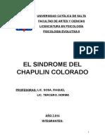 El Síndrome del Chapulín Colorado