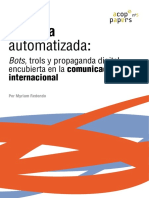 Política automatizada