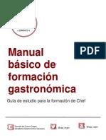 Manual Básico de Formación Gastronómica