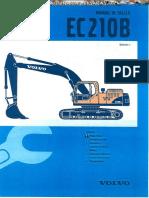 Manual Taller Excavadora Volvo Ec210b Parte 01