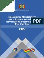 Guía Metodológica PTDI