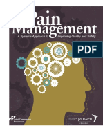 Pain Management - A Systems Approach to Improving Quality and Safety