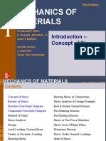 ELASTICIDAD Y RESISTENCIA DE MATERIALES-INTRODUCCION