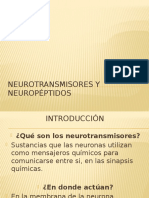 Neurotransmisores y Neuropeptidos