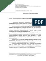 Nota Técnica 004 2016 - Recomendações Para o Diagnóstico Da Infecção Pelo HIV Em Gestantes