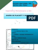 Diseños Plackett