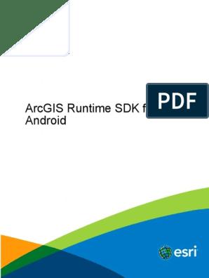 arcgis-android-guide10 2 8 | Arc Gis | Esri