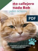 Un Gato Callejero Llamado Bob (de James Bowen)