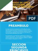 Codigo de Etica Profesional Del Colegio de Abogados