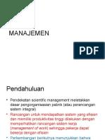 manajemen administrasi & perilaku