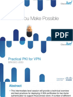 Brksec-2053 Practical Pki for VPN