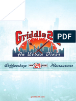 Griddle 24 Menu