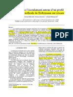 Simulation de l'Écoulement Autour d'Un Profil d'Aile Par La Méthode de Boltzmann Sur Réseau
