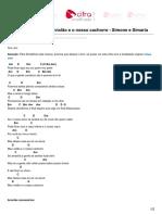 Cifrasimplificada.net-Cifra Simplificada Meu Violão e o Nosso Cachorro - Simone e Simaria