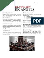 Kill Team List - Dark Angels v7.1.5
