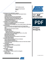 Atmega16 Data Sheet