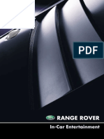 Range Rover L322 MY02 - In-Car Entertainment Handbook (LRL0455ENG)