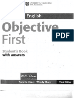 Objetive First Libro